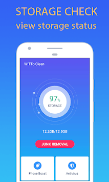 WiTTo Clean - Save Space and Speed-up the Phone pc screenshot 1