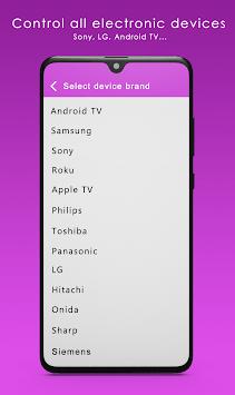 Sure Universal Remote Control Smart TV pc screenshot 2