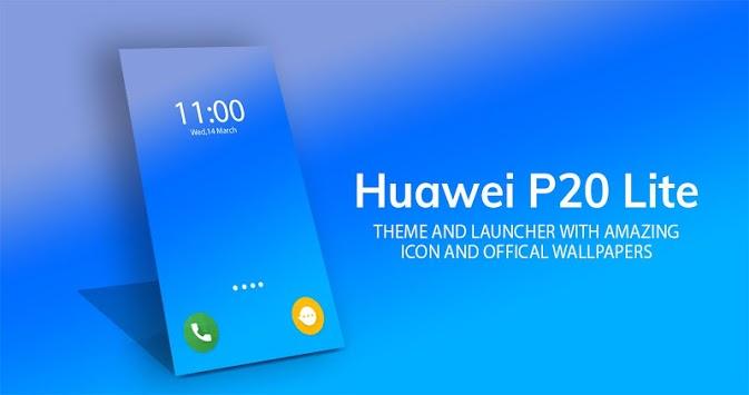 Launcher theme for Huawei Mate 20 lite / P20 Lite pc screenshot 1