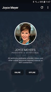 Joyce Meyer's Podcasts & Devotional pc screenshot 1