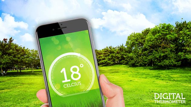 Digital thermometer - room temperature pc screenshot 1