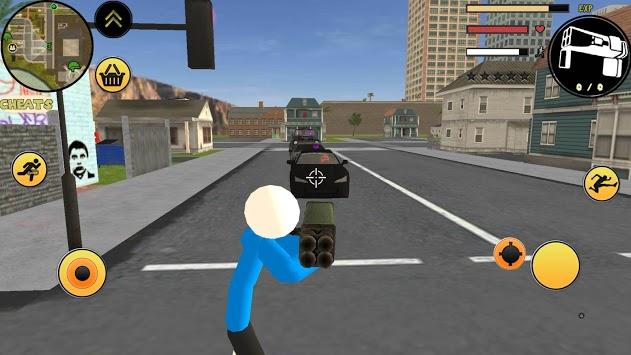 Sans Stickman Rope Hero Simulator pc screenshot 1