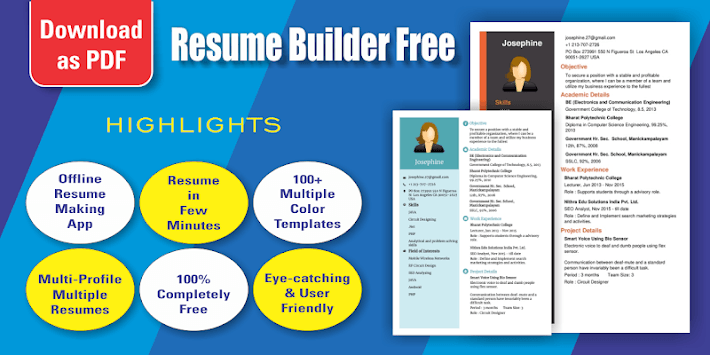 Resume Builder Free For Pc Windows Or Mac For Free