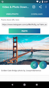 Video and Photo Downloader for Instagram™ pc screenshot 1