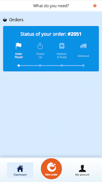 WashClub Laundry & Dry Cleaning pc screenshot 1