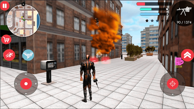 Immortal Flame Tornado Hero Vegas Crime Vice Sim 2 pc screenshot 1