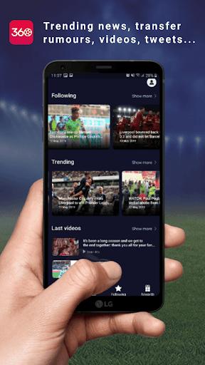 FAN360 - Top Football App pc screenshot 1