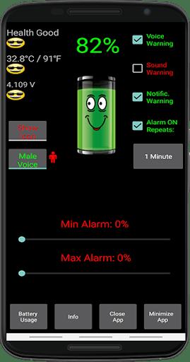 Battery Alarm PC screenshot 1