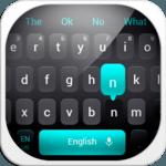 Simple Black Keyboard icon