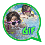 Funny Video, GIF for whatsapp icon