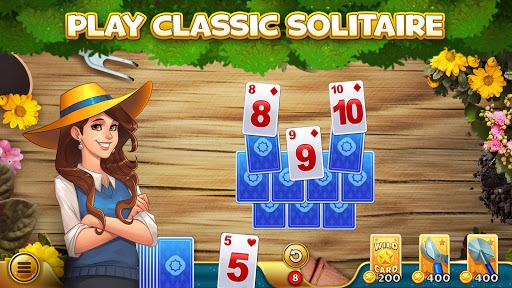 Solitales: Garden & Solitaire Card Game in One PC screenshot 1