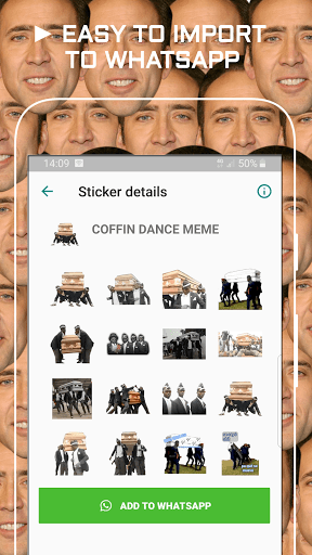 Funny Memes Stickers for WAStickerApps pc screenshot 1