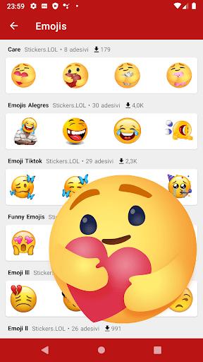 New Funny Stickers & Sticker Maker - WAStickerApps pc screenshot 1