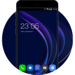 Theme for Huawei Honor 8/P8 HD Wallpaper Icon Pack for pc logo