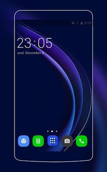Theme for Huawei Honor 8/P8 HD Wallpaper Icon Pack pc screenshot 1