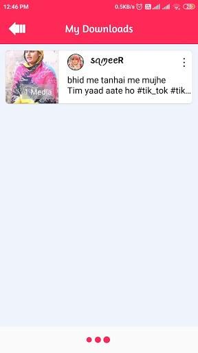 Video Downloader for Tiktok - Tikdown pc screenshot 1
