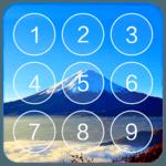 Lock Screen - Keypad lock icon