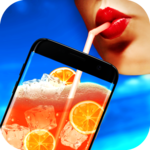 Virtual cocktails icon