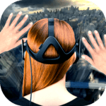 Falling down in VR icon