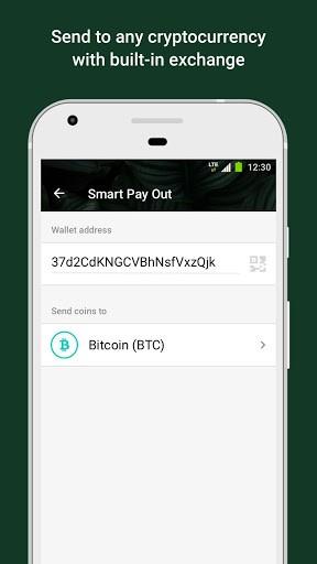 Tether Wallet. Store, send & receive USDT coin pc screenshot 1