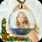 Christmas frame 2018 icon