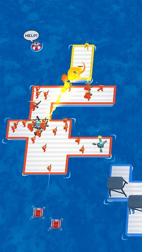 War of Rafts: Crazy Sea Battle PC screenshot 1
