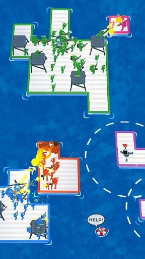War of Rafts: Crazy Sea Battle PC screenshot 2