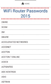 Free WiFi Passwords Router New pc screenshot 1